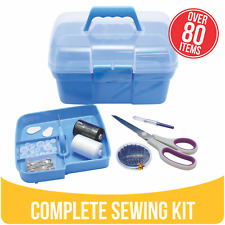 Complete Portable Sewing Kit for Travel Home Repair Sewing Storage Haberdashery