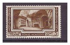 VATICANO 1938 -  ARCHEOLOGIA CRISTIANA  Cent. 5   NUOVO **
