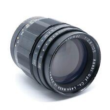 Pentax Asahi Takumar 105mm F/2.8 Preset Prime Lens - M42 Screw Mount