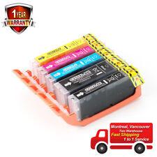 5PK ink for Canon PGI-250XL/CLI-251XL MG6320 MG6400 MG6420 MG6620 MG7120 MG7520