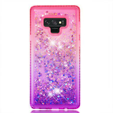 Flowing Liquid Bling Glitter Case Cover For Samsung Galaxy Note 9 S8 Plus J3/5/7
