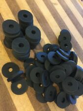 NEOPRENE RUBBER WASHERS 1/4 THICK!!!!!!!