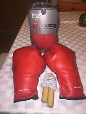 NEW!.Everlast-Boxing Gloves/with Case + (free) Training Boxing 🥊 Stuff