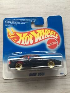 Hot Wheels BMW 850i 13581 Short Card Selten Roter Innenraum