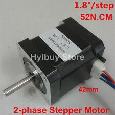 DC 24v 52N.cm 1.8°/step  2-phase 4-lead-wire 42mm Stepper motor F 3D printer CNC