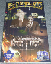 TORONTO MAPLE LEAFS 1996-97 Yearbook/Official Media Guide Gilmour 1997 65th Anni