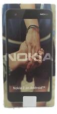 Nokia 2 Android 8GB Unlocked Copper/Black Sealed w/ AT&T SIM Card Kit Bundle
