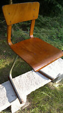 Alter Stuhl Bauhausart DDR 50´ziger Jahre! Loft Shabby Industrial Style SELTEN!!