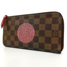 Authentic LOUIS VUITTON N61740 Damier Portefeiulle Complist MI0058 purse PVC...