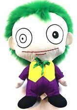 "New listing Six Flags Joker Pillow Head Stuffed Plush Toy Dc Comics Justice League Huge 21"""