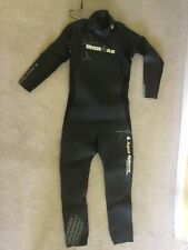 Adult Aqua Sphere Ironman Wetsuit with carry case -  Size M - vgc