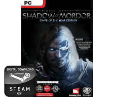 shadow of mordor spiel des jahres edition goty pc, mac und linux steam key