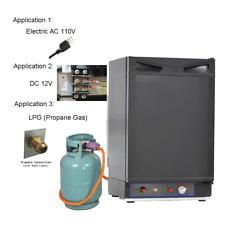 Smeta 1.5 cu ft 3 Way Propane Refrigerator Camper RV Gas Fridge Cabin Off Grid