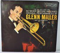 Glenn Miller 50 Never Before Released Original 3 LP Set & Booklet - RCA LPM-6100