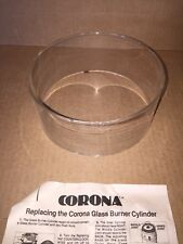 Corona Glass Heater Burner Replacement Cylinder Japan Glo International New