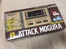 RARE BANDAI LCD GAME ATTACK MOGURA JAPAN