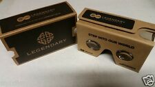 SDCC Comic Con 2015 EXCLUSIVE Legendary Google Cardboard VR Virtual Glasses