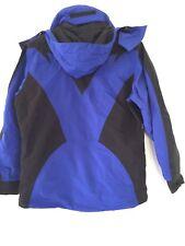 THE NORTH FACE Extreme Light Hood Blue Black Jacket Coat VTG 90s 6 M (E9)