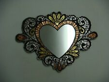 Handcrafted Decorative Heart mirror Mosaic Art design home decor