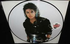 "MICHAEL JACKSON BAD 25th ANNIVERSARY EDITION 12"" VINYL LP PICTURE DISC"