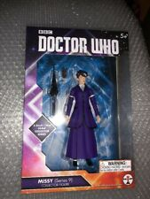 "Doctor Who 5.5"" Action Figure Missy Bright Purple Dress Series 9"