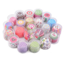 Box Baking Muffin Case Wedding Cupcake Colorful Paper Tray Wrappers Cake Cup