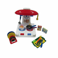 Kitchen Pretend Play Little Big World Deluxe Cooking Chef New Toy Ages 3+ Gift