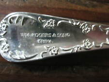 15 Pieces Wm Rogers & Son IS China Silverplate Flatware Enchanted Rose