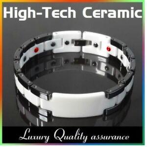 Energy Power Bracelet Health High-Tech Ceramic Armband Tungsten Magnetic Bio