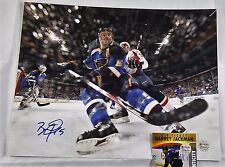 BARRET JACKMAN 11x14 Autographed Photo Signed COA St Louis BLUES 2
