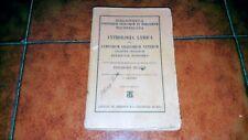ANTHOLOGIA LYRICA LYRICORUM GRAECORUM VETERUM ED TEUBNER 1911 HILLER TESTO GRECO