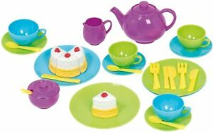Children's 32 Piece Tea Set Cooking Serving Role Play Toy Kids Christmas Gift