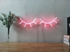 New Closed Eyes Sleep Neon Sign For Bedroom Home Decor Artwork With Dimmer
