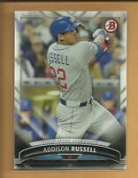 Addison Russell 2016 Bowman Sophmore Standouts Insert Card # SS-11 Cubs Baseball