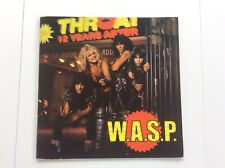 WASP Japan tour 1984 program tourbook