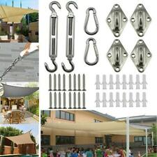 Quadrangle Sun Shade Sail Stainless Steel Hardware Installation Kit newmcx