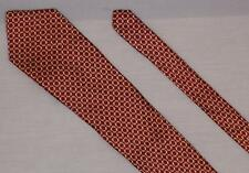 "Neo by Bill Blass Silk 60"" Necktie Vintage Tie Patterned Burgundy FREE SHIPPING"