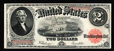 1917 $2 Large Size  Legal Tender Note Fr