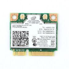 Intel 7260HMW Dual Band AC With Bluetooth Wireless WiFi Mini Pci-e Card 867mb