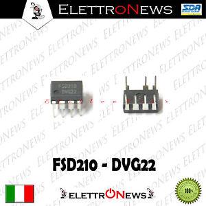 Circuito integrato FSD210 DIP7 - FSD 210 7pin Circuito Integrato