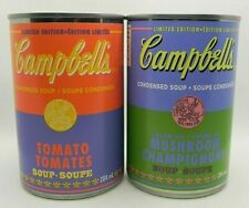 2020 Campbell's Soup 60th Andy Warhol Limited Edition Canada Tomato & Mushroom