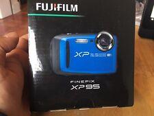 BRAND NEW  Fujifilm Finepix XP95 16M Waterproof Camera - 074101027594 - BLUE