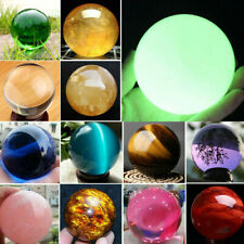 Rare Natural Quartz Crystal Magic Sphere Minerals Reiki Healing Ball Stone Lot