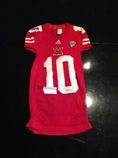 Game Worn Used Miami Red Hawks Football Jersey Adidas Med 1Ac #10