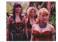 XENA 8.5 x 11 montage photo by ANNE C FERGUSON ~DIGITALLY ALTERED EPHINY HOOVES