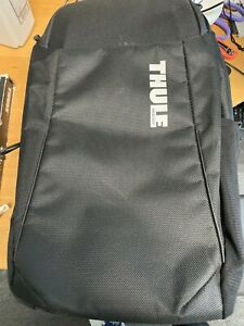 """Thule - Accent Backpack Bundle for 15.6"""" Macbook Laptop and tablet- Black"""