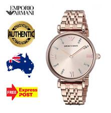 Emporio Armani AR11059 Gold Blush 32mm Case Women's Ladies watch new in box