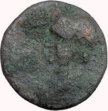 Vespasian 69AD  Macedonian mint Large Rare Ancient Roman Coin Shield  i34010