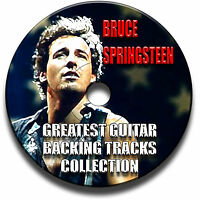 BRUCE SPRINGSTEEN THE BOSS STYLE ROCK GUITAR MP3 BACKING JAM TRACKS CD