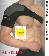 New Adjustable Shoulder Support Brace Compression Heat Patch Protection Strap